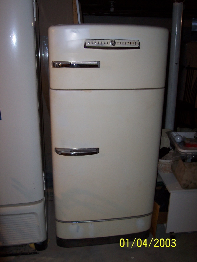THE ANTIQUE REFRIGERATOR